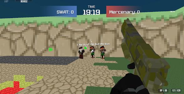 Combat Pixel Arena 3D - Fury Man 1.4 screenshot 3