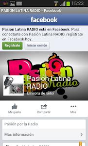 Pasión Latina Radio 1.2 screenshot 2