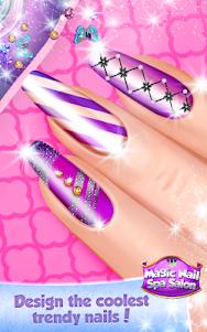 Magic Nail Spa Salon:Manicure Game 2.3 screenshot 4