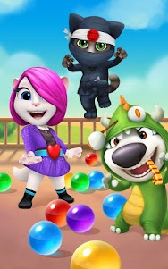 Talking Tom Bubble Shooter  screenshot 6