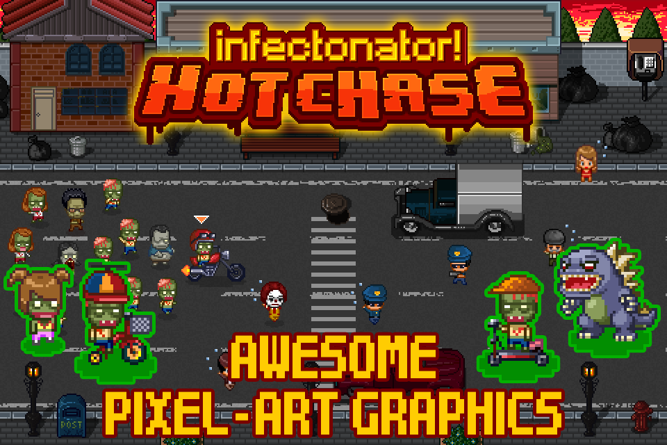 Infectonator Hot Chase 1 3 7 APK Download - Android Casual Games