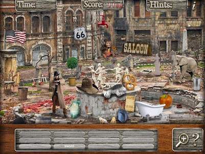 Hidden Objects Haunted Mystery Ghost Towns Puzzle 1.3 screenshot 10