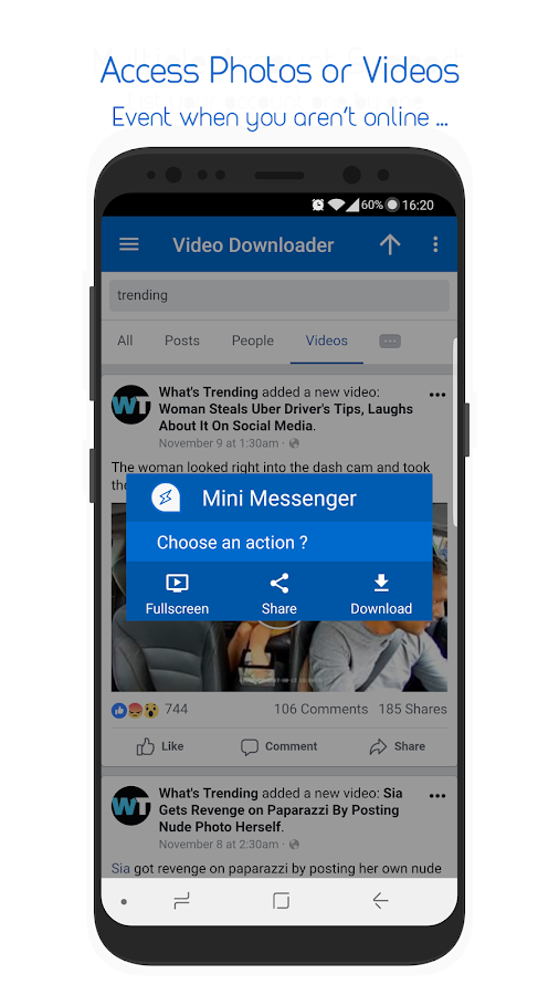 Mini Messenger For Facebook Lite 1 0 2 APK Download - Android Social