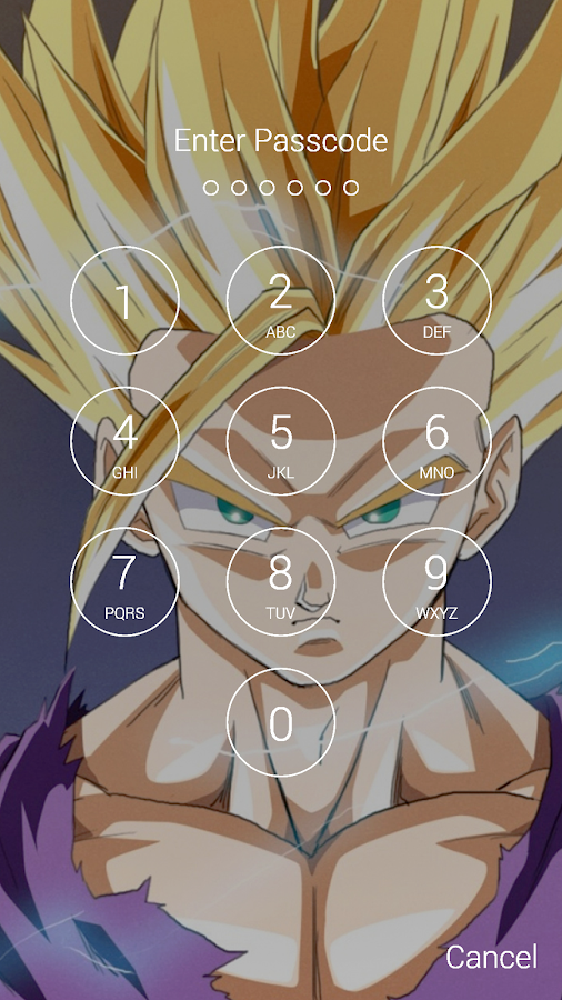 Gohan Son Fan Anime Lock Screen Wallpaper 13 Screenshot 5