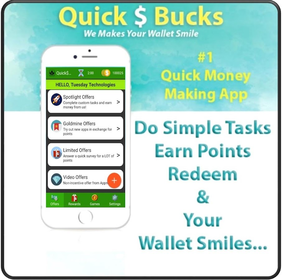 QuickBucks- Free Money & Gifts 8 APK Download - Android Lifestyle Apps