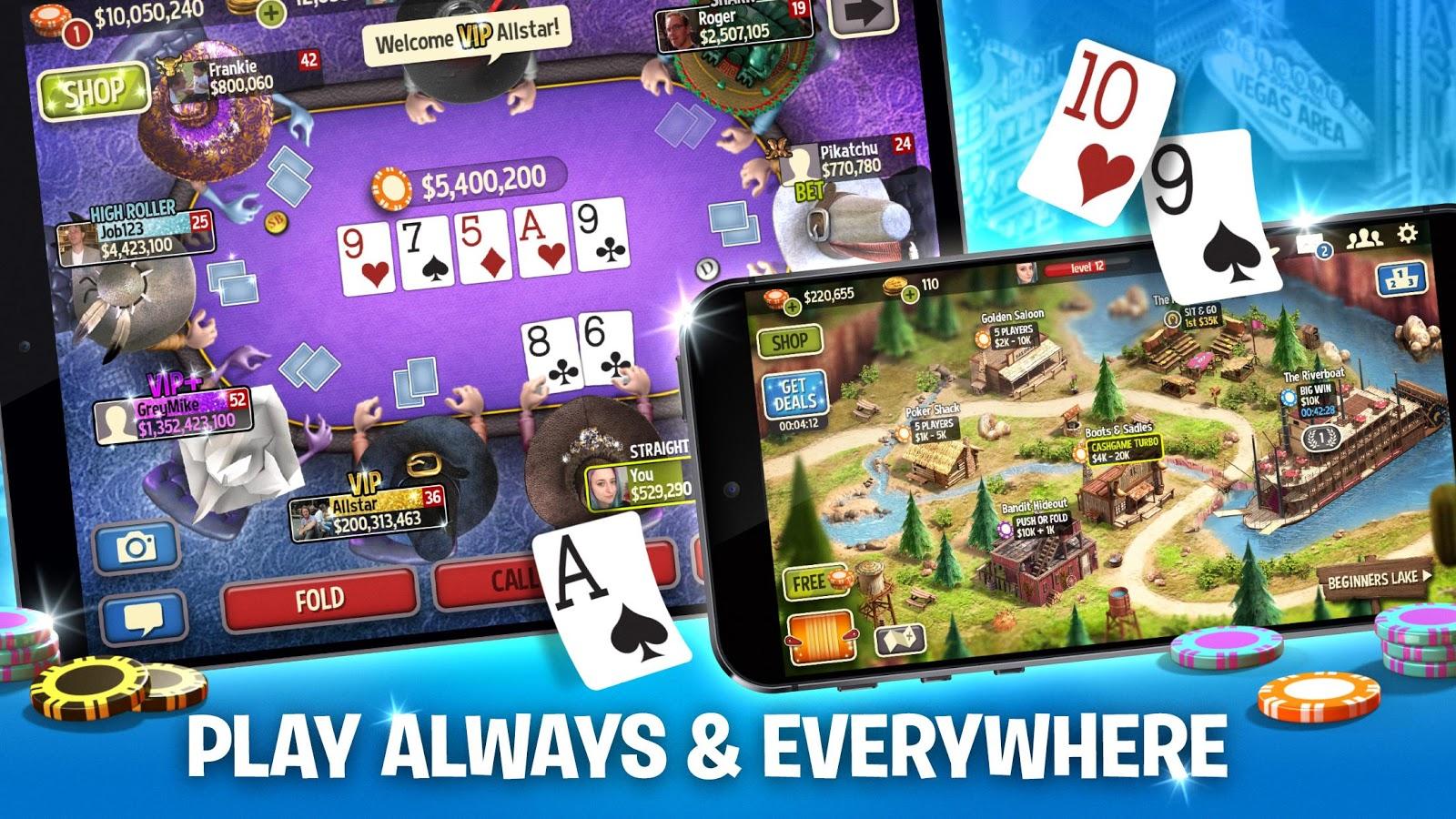 Governor of Poker 3 - Texas Holdem Casino Online 4.6.0 APK