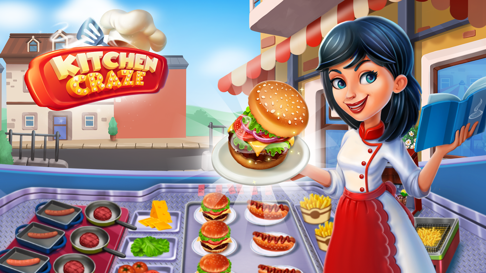Kitchen craze master chef cooking game 1 7 6 screenshot 1