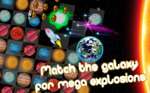 Space Planets: Match 3 game 5.0 screenshot 1
