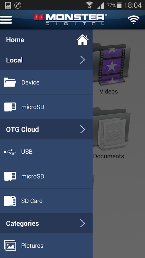 OTG Cloud by Monster Digital 2 2 APK Download - Android Tools Apps