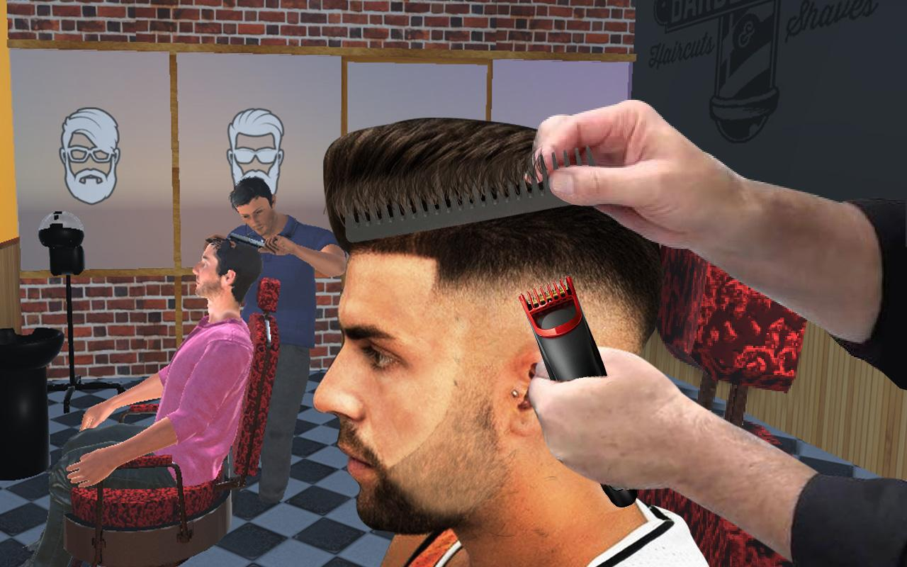 Barber Shop Hair Salon Cut Hair Cutting Games 3d 141 Apk Download