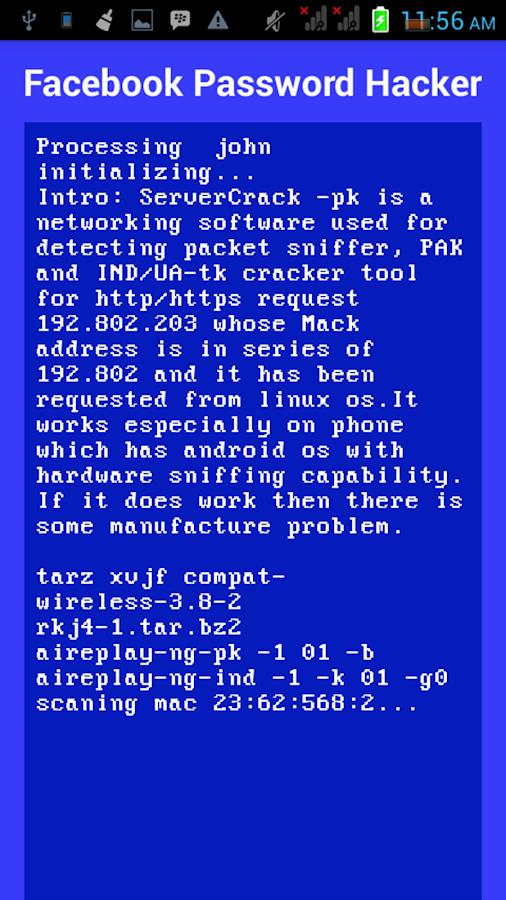 Fb Password Hacker (Prank) 1 1 APK Download - Android