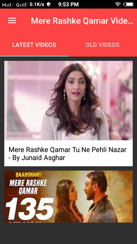 Mere Rashke Qamar Videos 0 0 2 Apk Download Android Entertainment Apps
