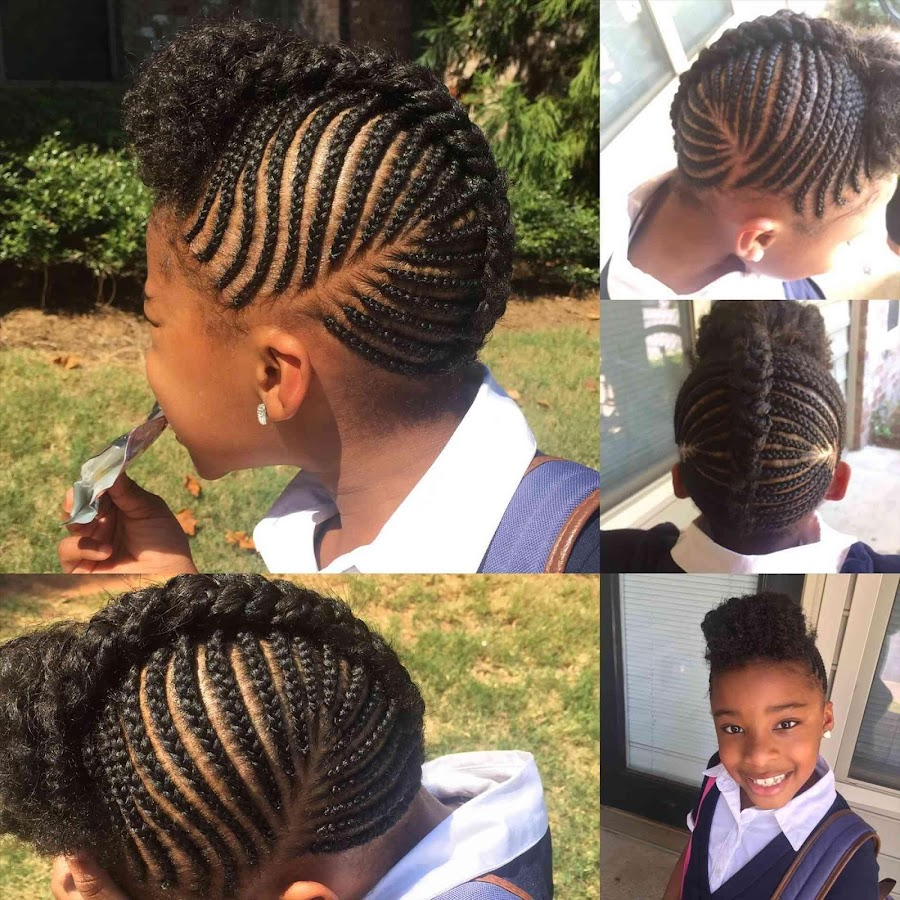 African Kids Braids Black Girl Hairstyles 1 1 23 0 Apk