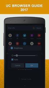 New UC Browser Guide 2017 1.1 screenshot 2