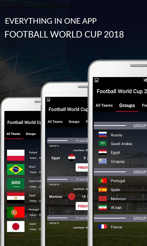 Football World Cup 2018 Russia - Stats & Updates 1 4 APK