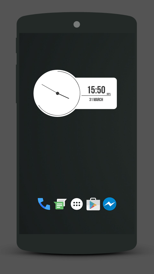 Materialuth Zooper Widget 2 3 APK Download - Android Personalization