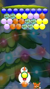 Snow Puzzle Bubble Shooter 1.0 screenshot 4