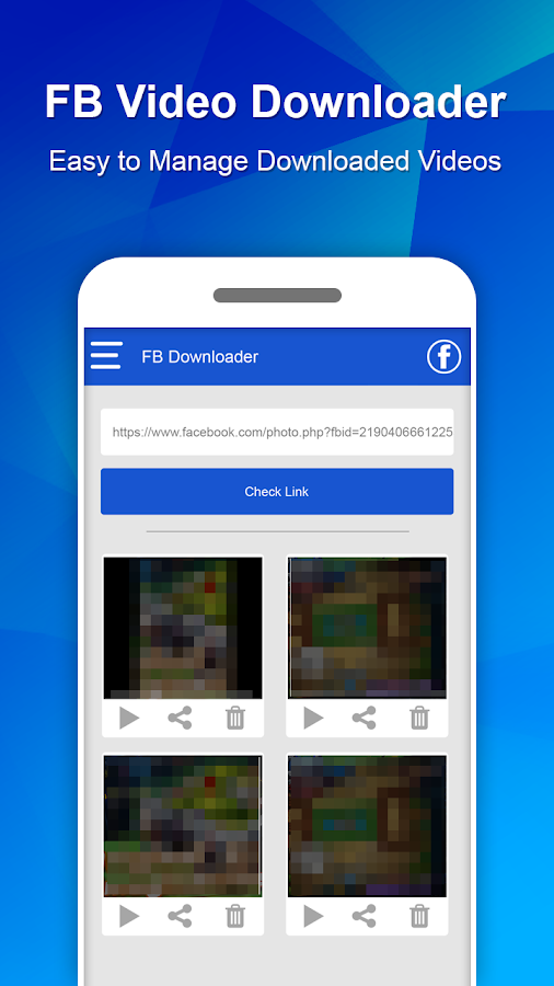 facebook app video downloader apk