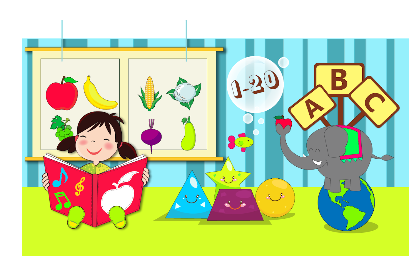 Kindergarten Kids Learning: Fun Educational Games 6.3.2.1 APK ...