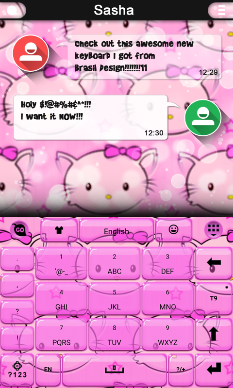 Hi Kitty keyboard theme 3 8 APK Download - Android Personalization Apps