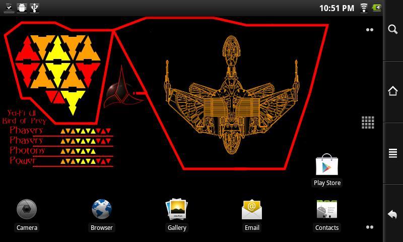 ... Sci-Fi UI Live Wallpaper Lite 1.4 screenshot 2 ...