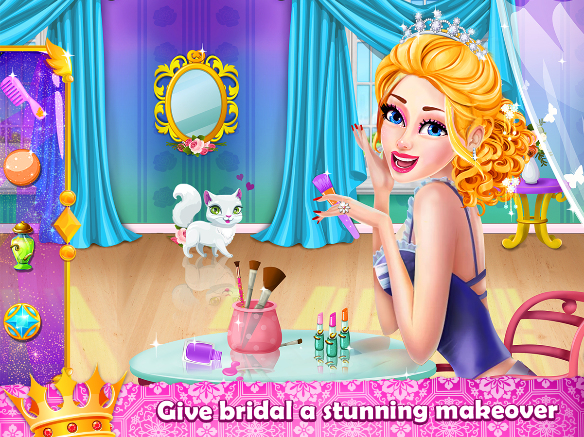 Royal Princess Wedding Makeover And Dress Up 1 5 Apk Download