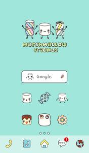 marshmallow friend dodol theme 4.1 screenshot 1