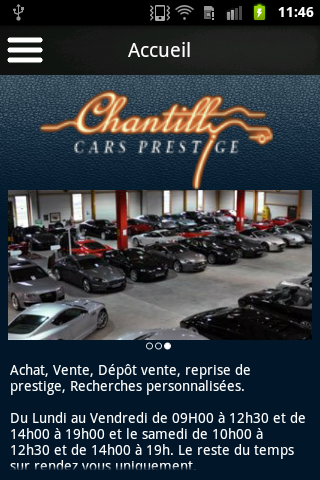 Chantilly cars prestige 1 0 1 apk download android tools for Chantilly cars prestige societe