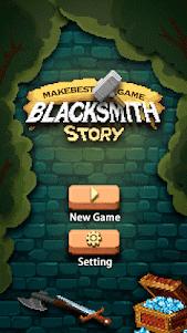 Blacksmith Story-Pixel Game 3.2.0 screenshot 1