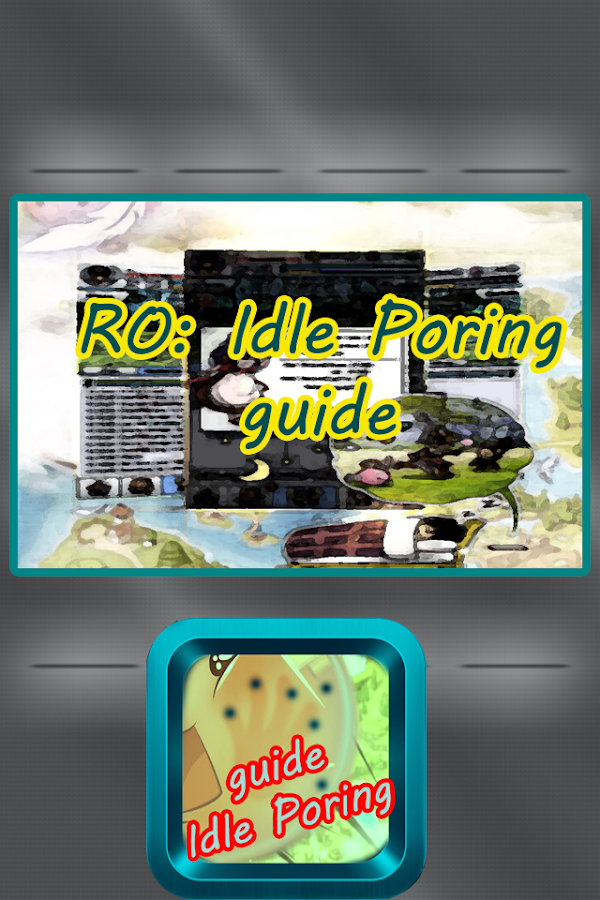 idle poring ultimate guide - 600×900