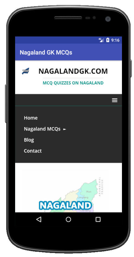 Nagaland GK MCQs 3 APK Download - Android Education Apps