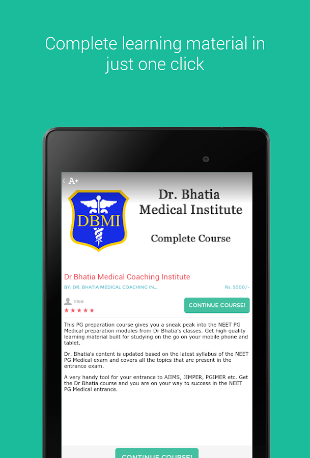 Dr Bhatia PG Medical Course 2 56 APK Download - Android