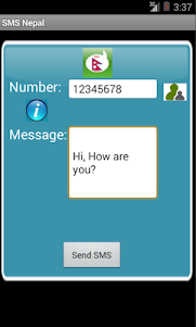 Free SMS Nepal 1.0 screenshot 1