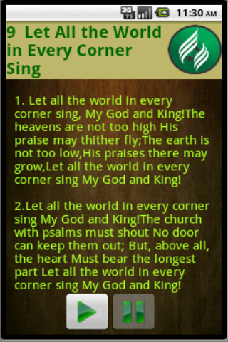 SDA Hymnal 1 0 APK Download - Android Music & Audio Apps