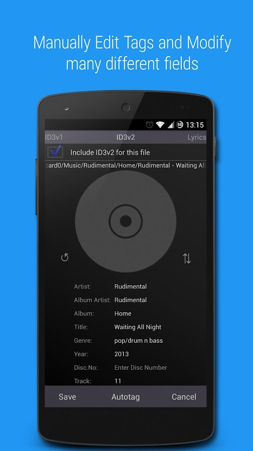 Music Tagger - Tag Editor 1 1 9r APK Download - Android Music