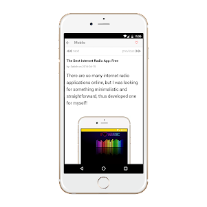 Blog 0.0.1 screenshot 2